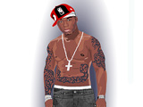50 CENT DRESS-UP