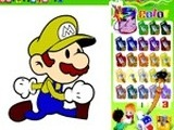 COLORING MARIO