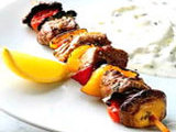 COOKING SHOW LAMB KEBABS