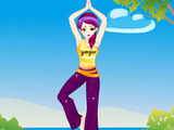 FASHION YOGA GIRL
