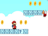 MARIO ADVENTURE ON CLOUD