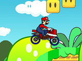 MARIO LUIGI BIKE GAME