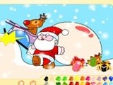 SANTA CLAUS PAINTING