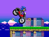 SONIC NINJA MOTOBIKE