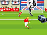 STUDY IN THE UK: FREEKICK GAME