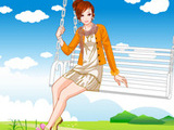 SWING FLYING GIRL