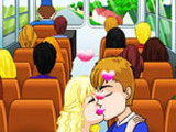 YELLOW BUS KISS